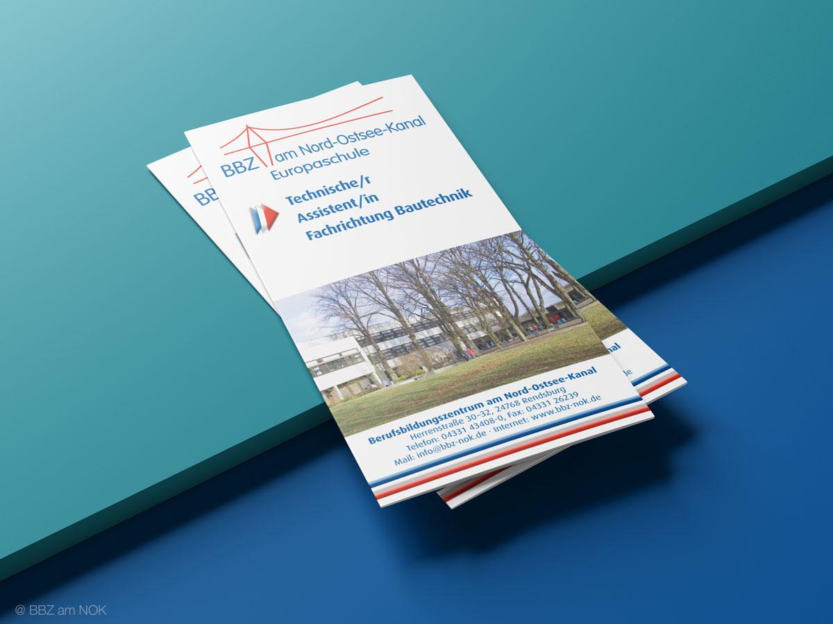 Info-Flyer der Technischen Assistenten Bautechnik