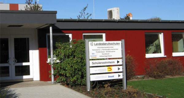 Landesberufsschulen Gebäude